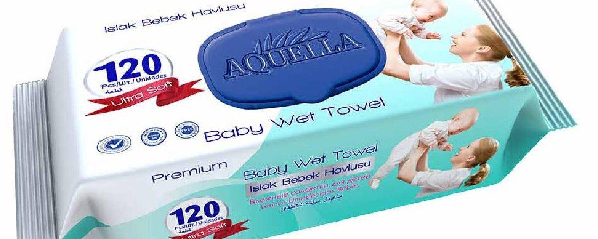 Műanyag kupakos baba törlőkendő, ami nem szárad ki